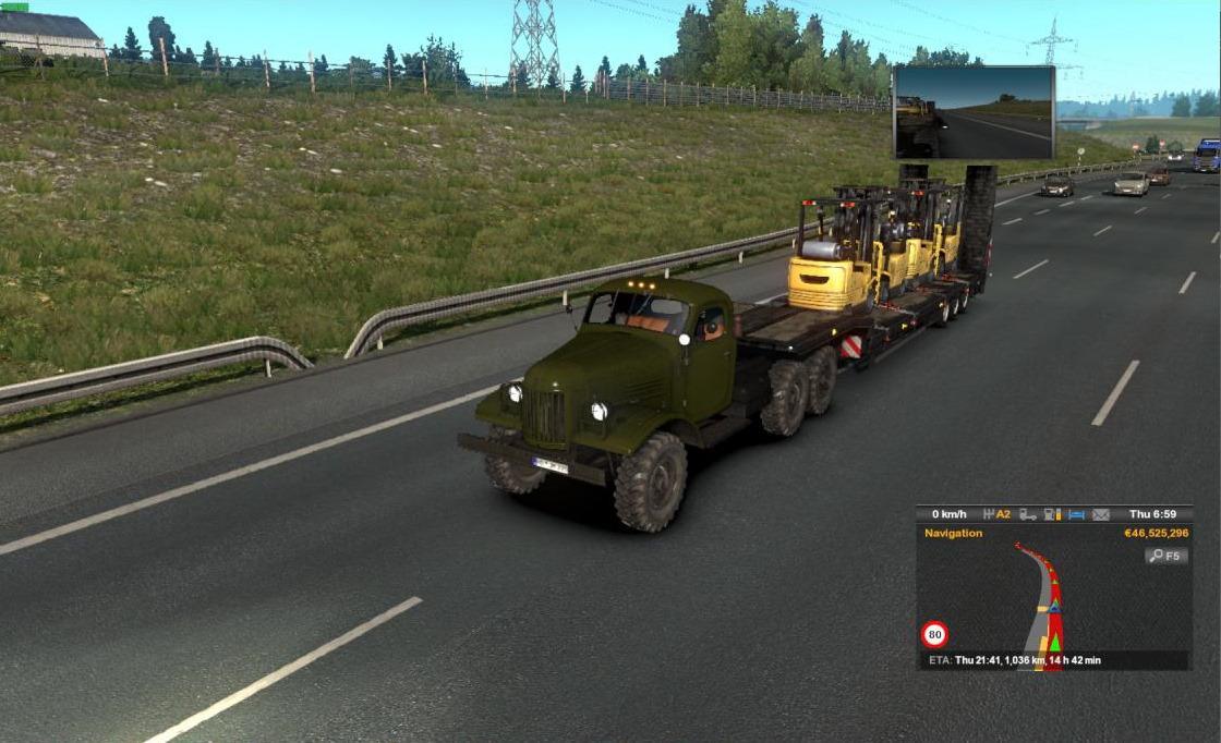 ETS2 - Zil 157 Truck V1.4 (1.37 - 1.38)
