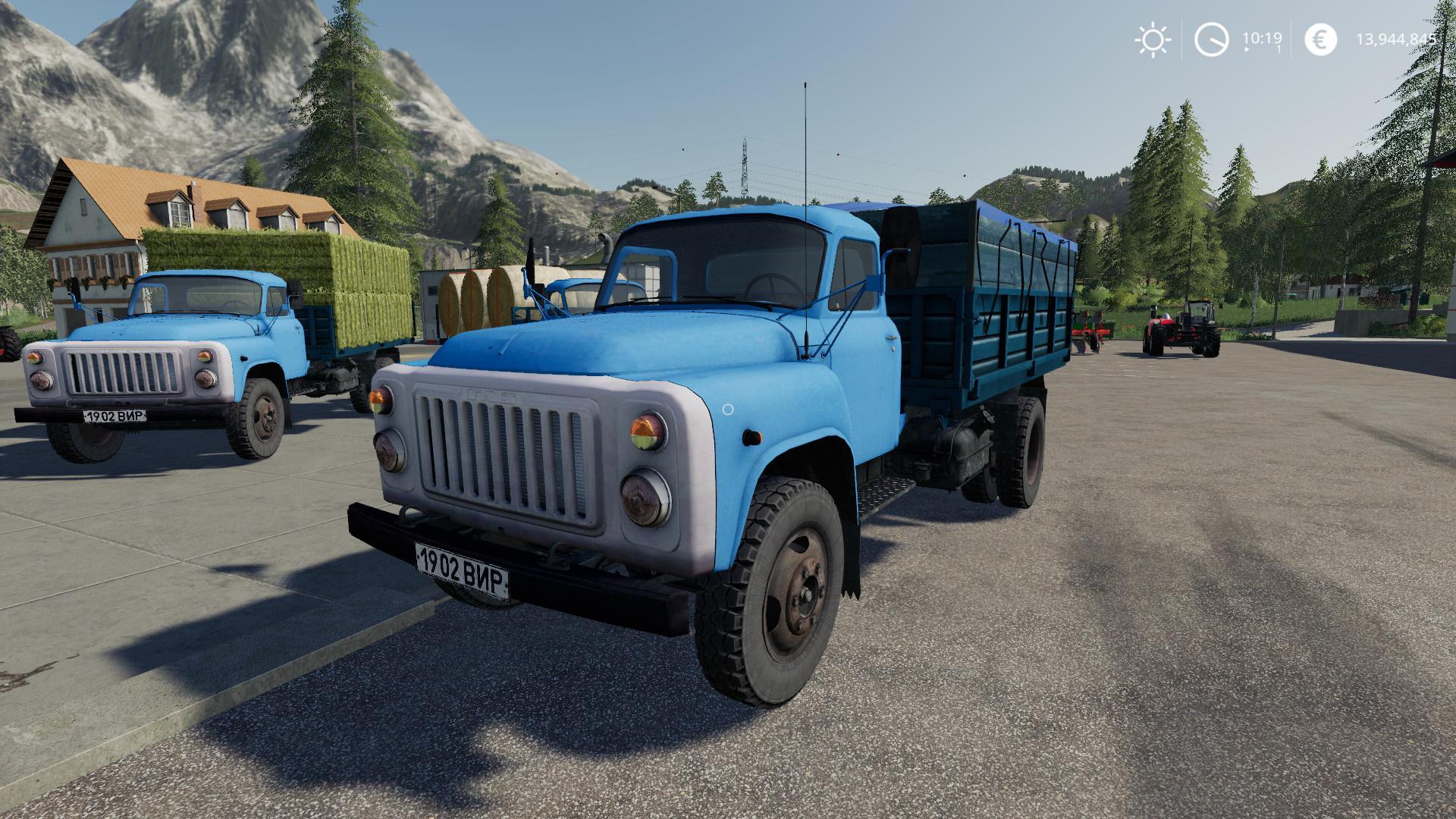 FS19 - GaZ 53 Truck V1.0