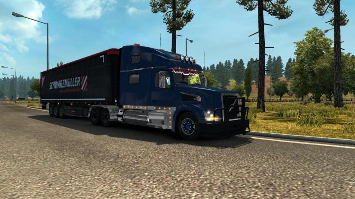ETS2 - Volvo VNL Truck Shop V1.4.4 (1.39.x)