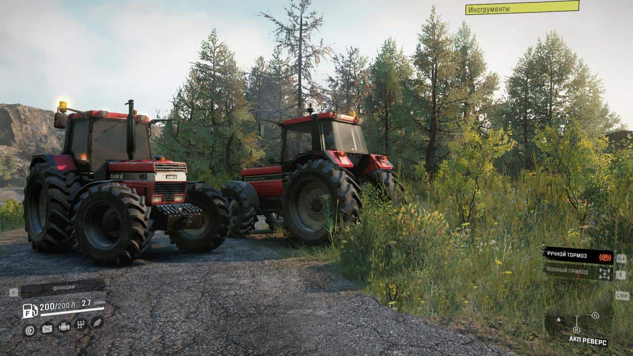 SnowRunner - Case IH 1455XL Reload Version