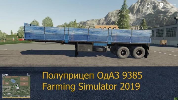 FS19 - Semi Odaz 9385 Trailer V1.1