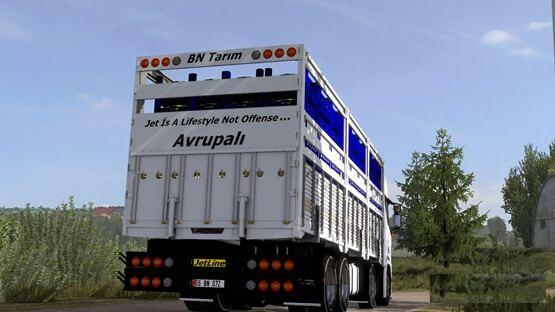 ETS2 - Scania Next Gen R450 Turkish Kirkayak (1.39.x)