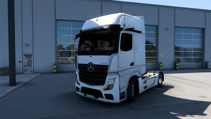 ETS2 - New Mercedes-Benz Actros 2019 V1.6.1 (1.40.x)