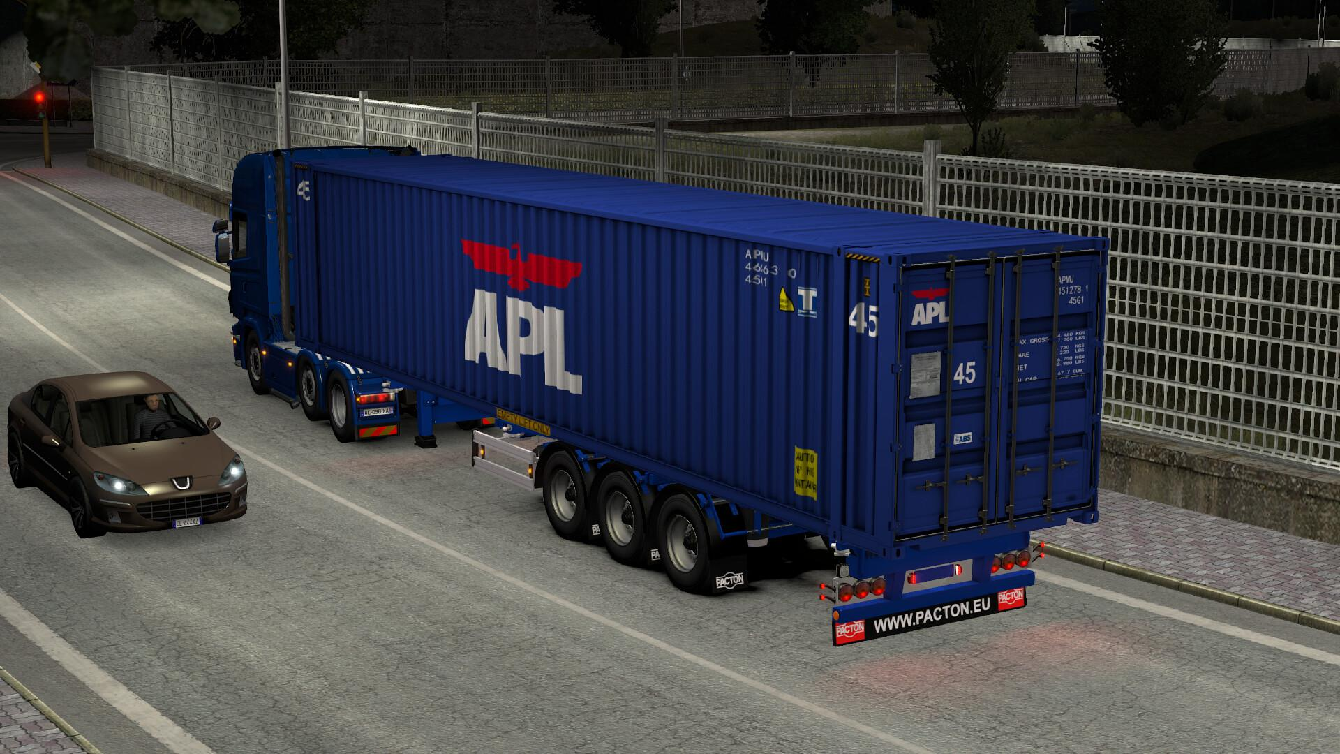 ETS2 - Pacton Container Pack V16.09.20 (1.38.x)