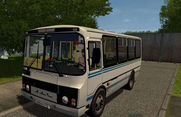 City Car Driving 1.5.9 - Paz 32054 Bus