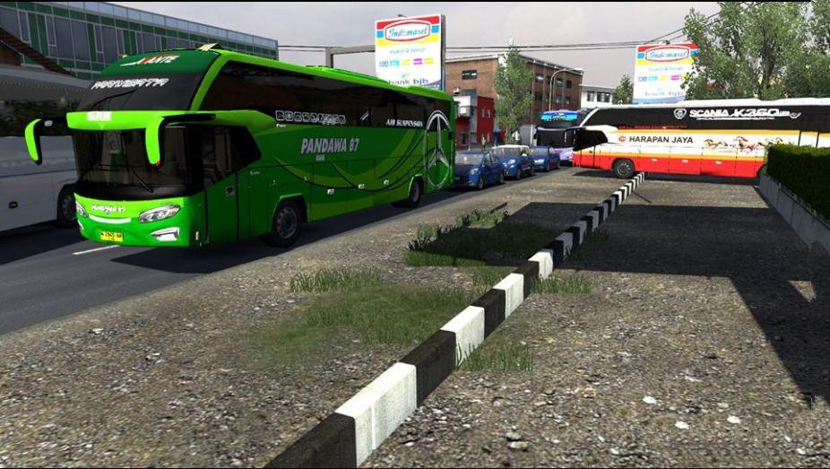 ETS2 - Busses in Traffic Pack V2.7.1 (1.37.x)