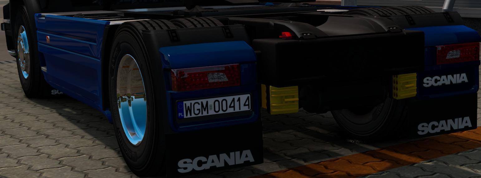 ETS2 - Scania RJL License Plate V2.0 (1.36 - 1.37)