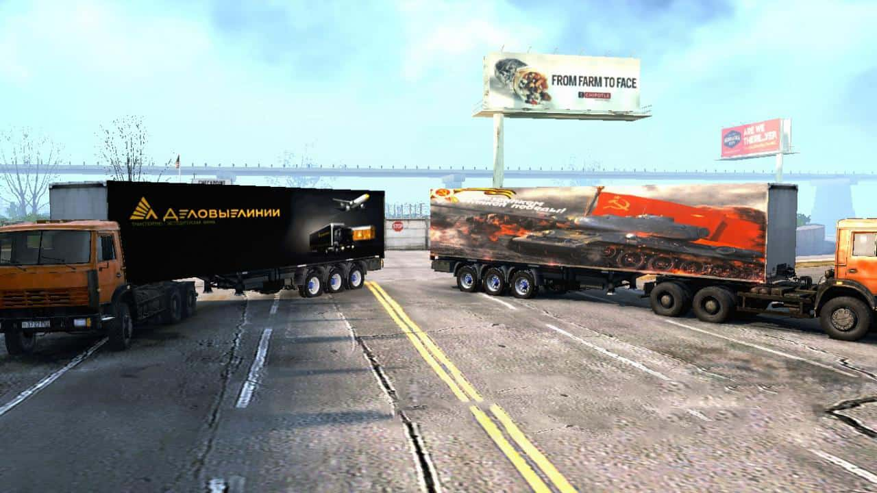 Spintires:Mudrunner - Semi-Trailer Pack V3