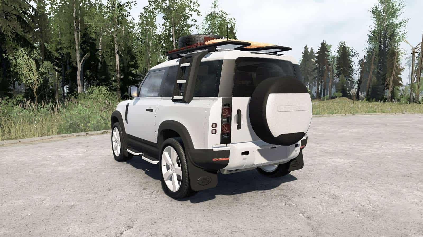 Spintires:Mudrunner - Land Rover Defender 90 D240 SE Adventure 2020