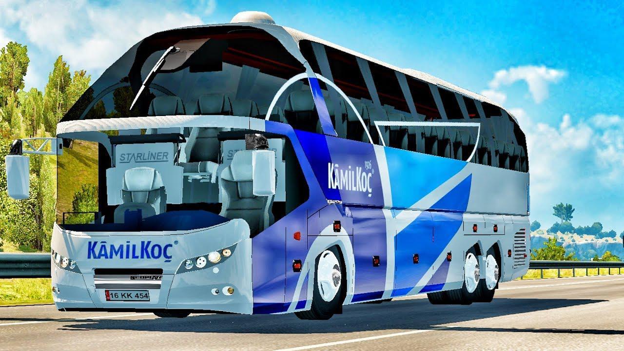 ETS2 - Neoplan Starliner Bus Mod (1.39.x)