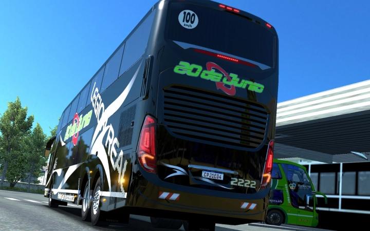ETS2 - Comil Invictus Volvo 6x2/8x2 Bus Mod V2.0 (1.41.x)