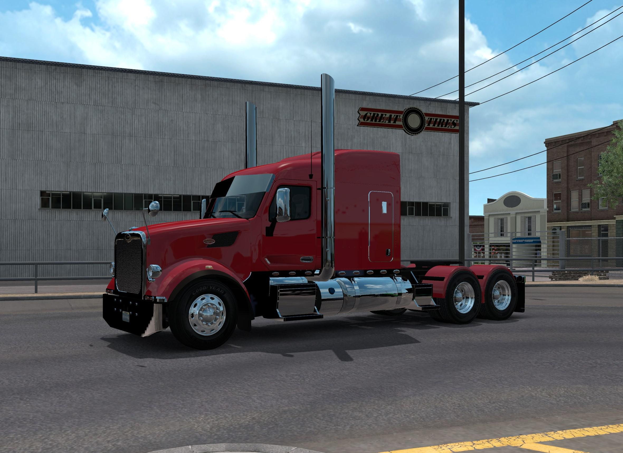 ATS - Peterbilt 567 Wrecker And Dump Combo (1.35.X)