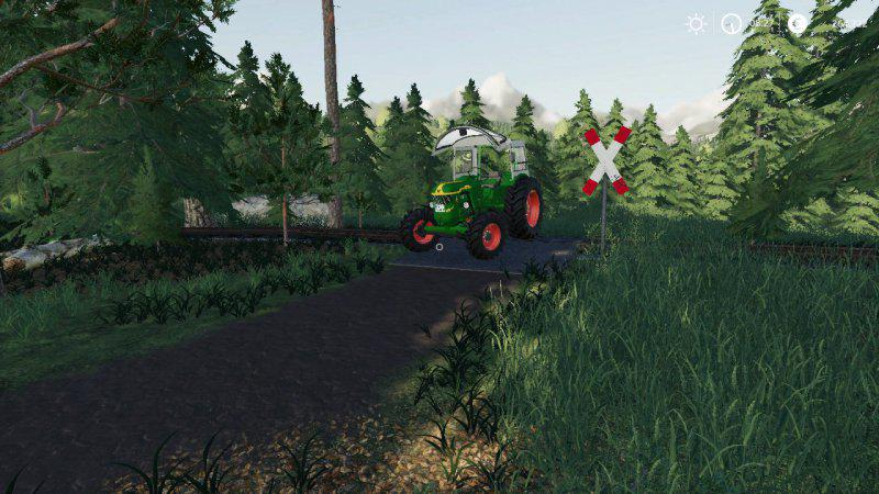 FS19 - Deutz-Fahr D40 Tractor V1.0