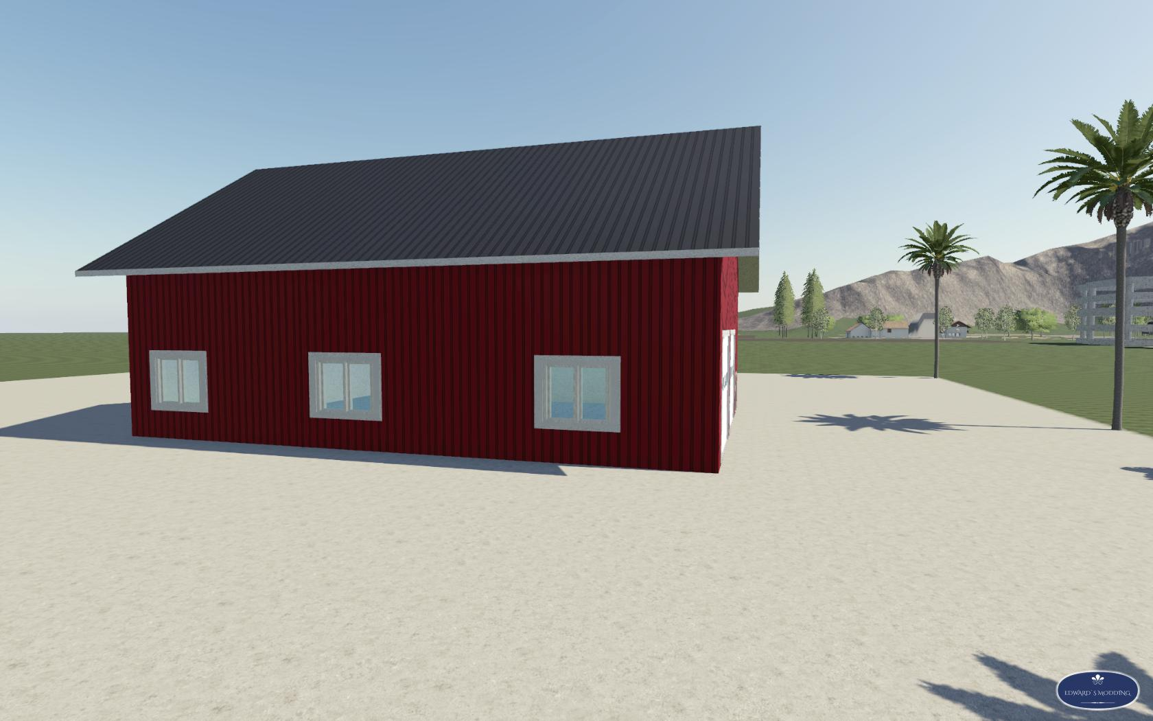 FS19 - Large Garage V1.0