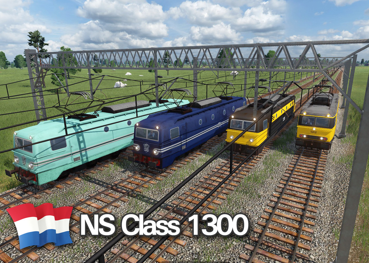 Transport Fever 2 - NS Class 1300