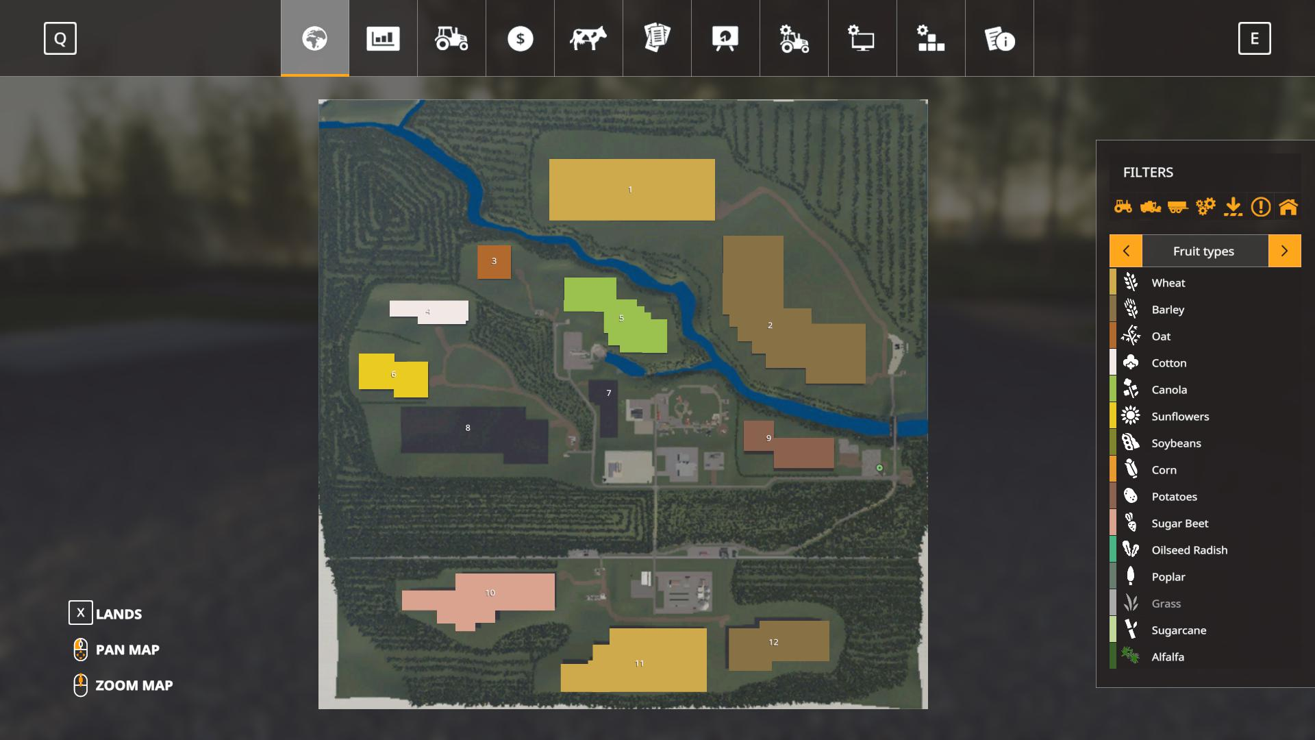 FS19 - Home Farm Map V1.0