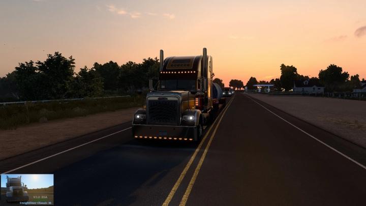 ATS - Freightliner Classic XL Truck V3.0 (1.40.x)