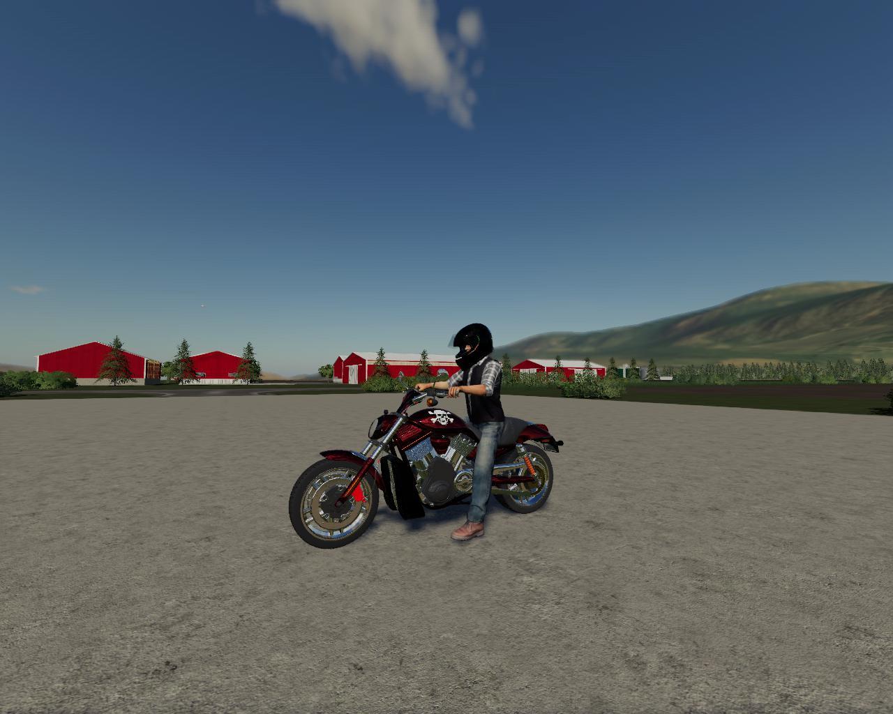 FS19 - Motorcycle V1.0