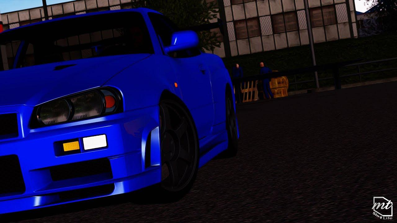 ATS -  Nissan Skyline GT-R R34 V-Spec II V1.0 (1.35.X)