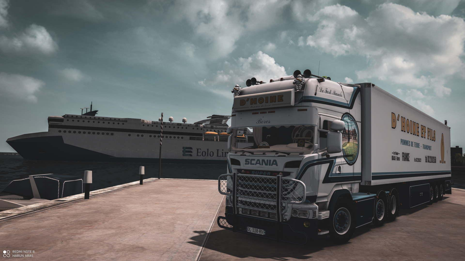 ETS2 - Scania D Hoine & Trailer (1.37.x)