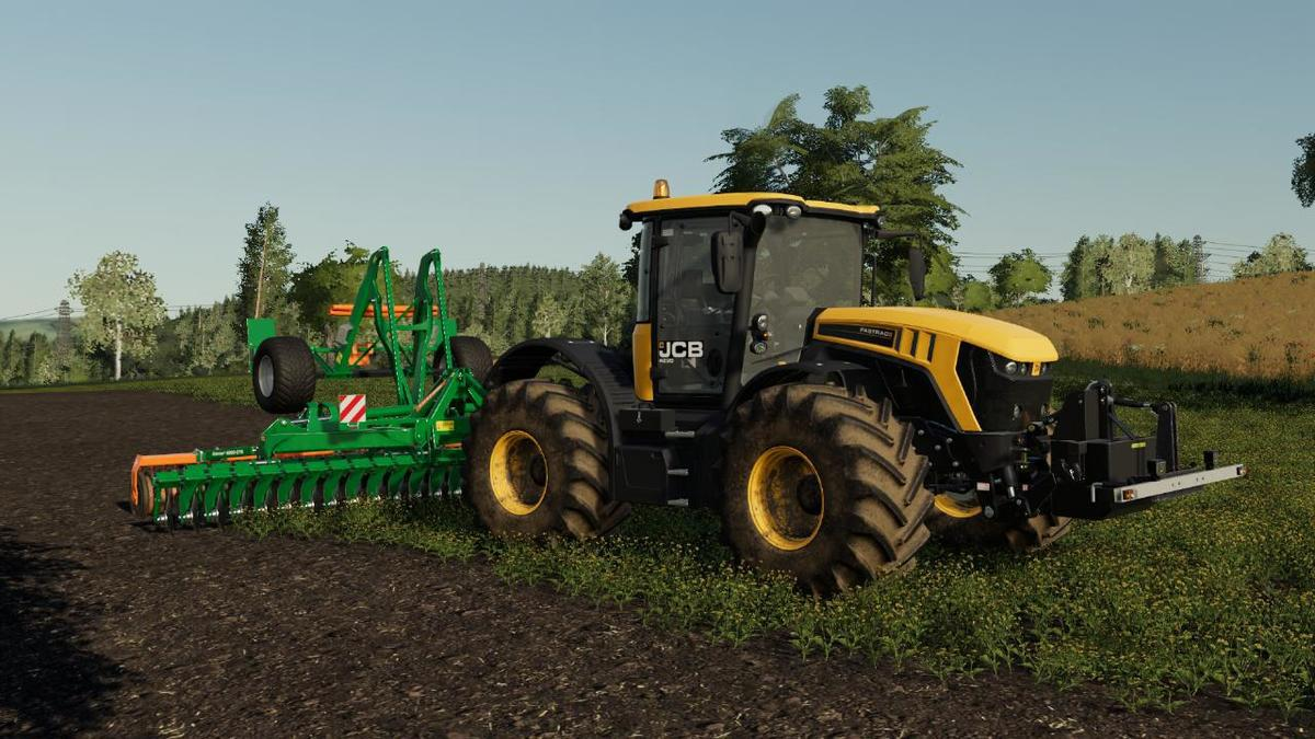 FS19 - JCB Fastrac 4220 Tractor V1
