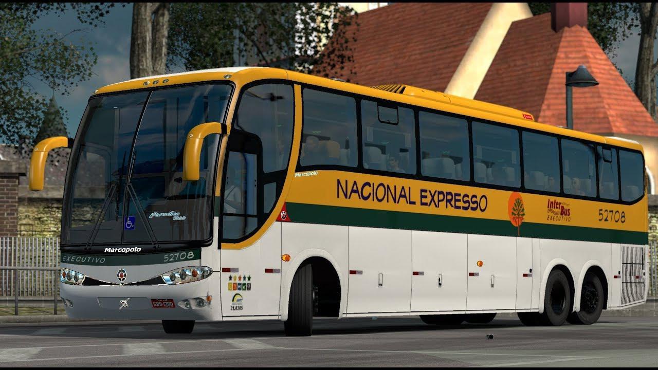 ETS2 - Bus Paradiso G6 VLV SC V3.0 (1.36.x)
