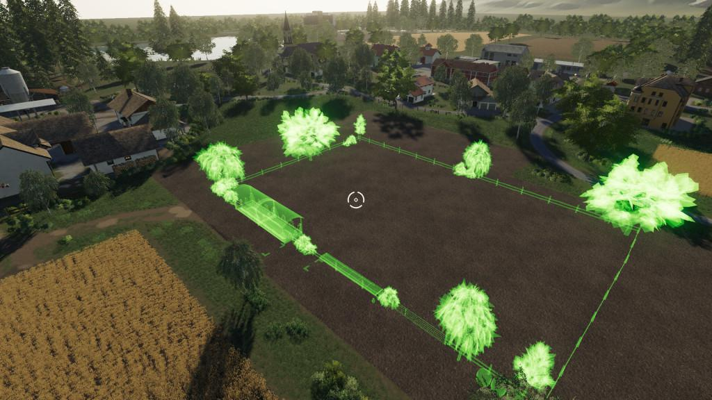 FS19 - Placeable Cow Pasture V1.0