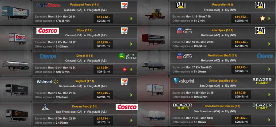 ATS - Real Companies & Trailers Pack V1.8 (1.36.X)