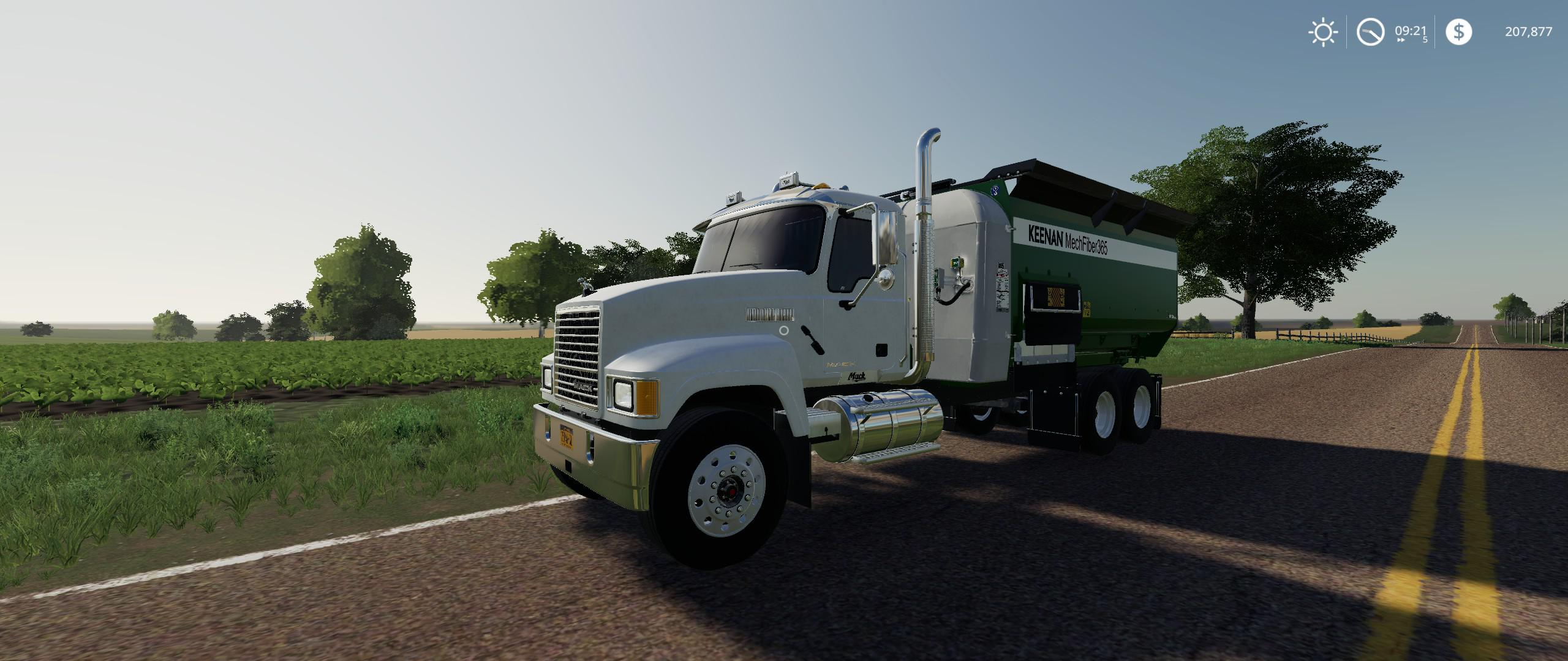 FS19 - Mack Pinnacle Feed Truck V1.0