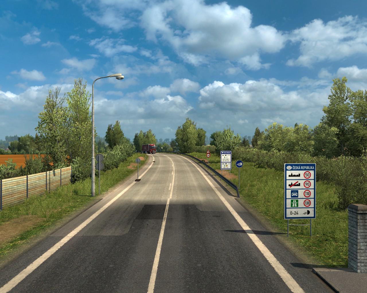 ETS2 - Border improvements Pack for ProMods 2.42 V1.1.0 (1.36.X)