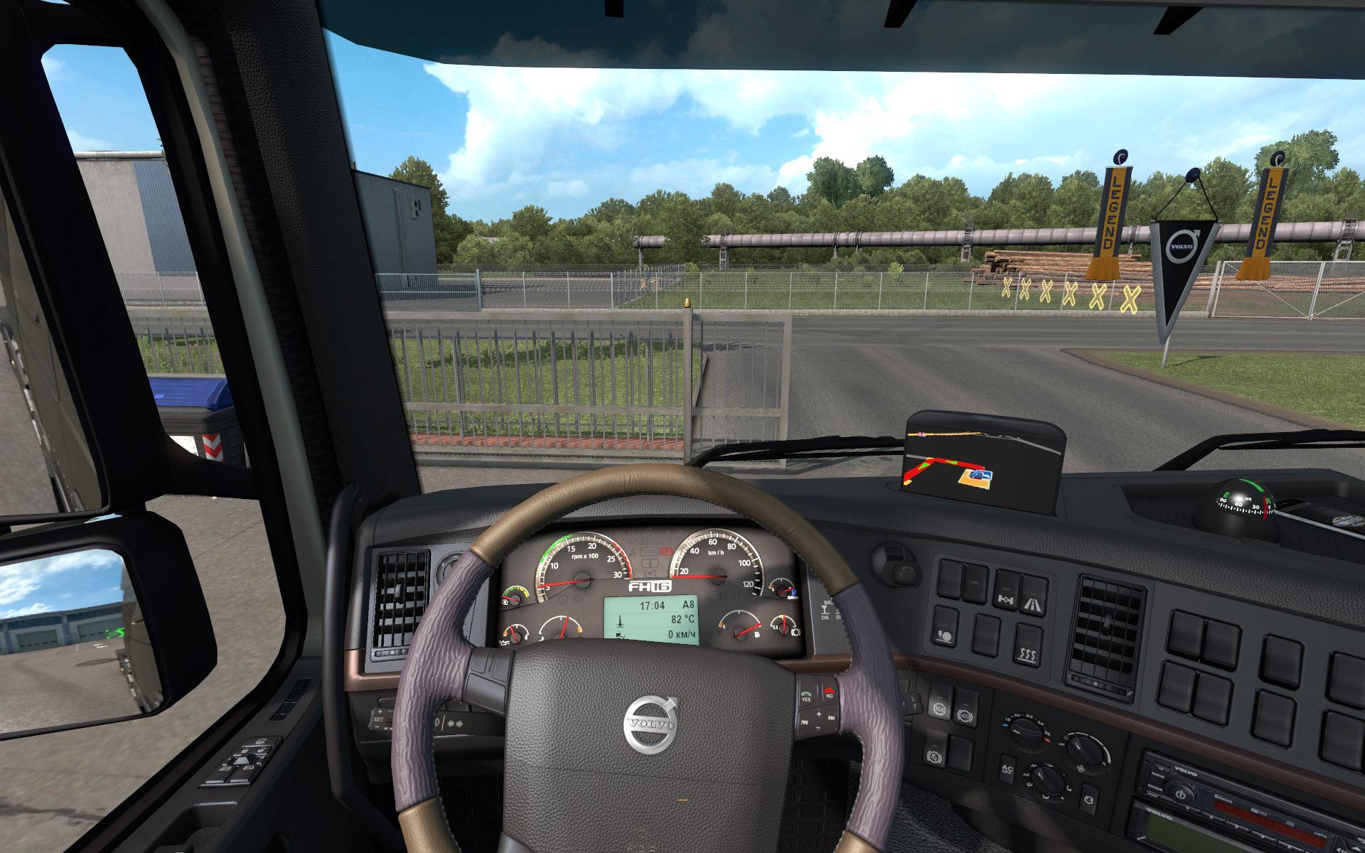 ETS2 - Volvo FH 2009 interior V1.3 (1.36.x)