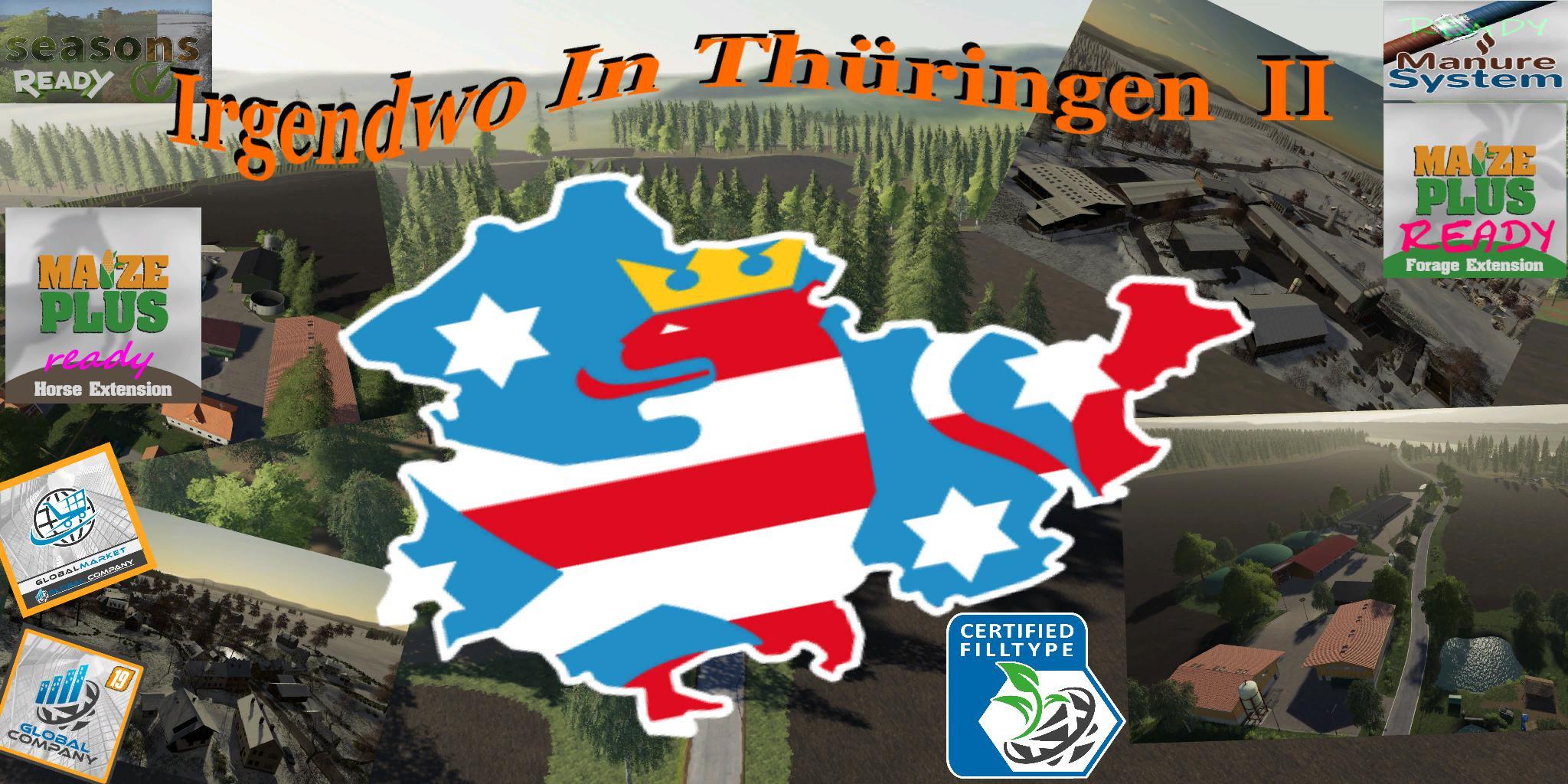 FS19 - Irgendwo in Thuringen II Map V3.0