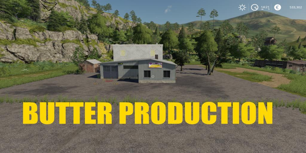 FS19 - Placeable Butter Production V1.0