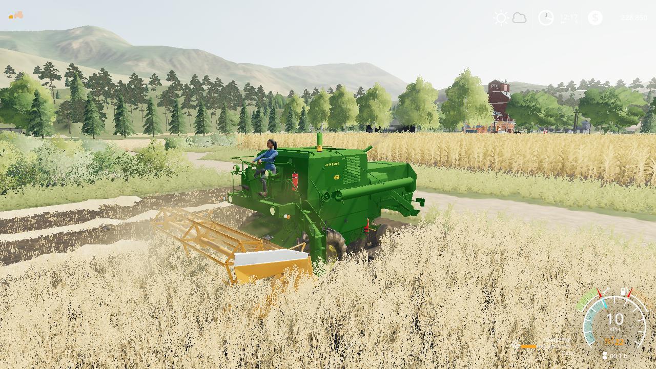 FS19 - John Deere 55 Harvester V1.0