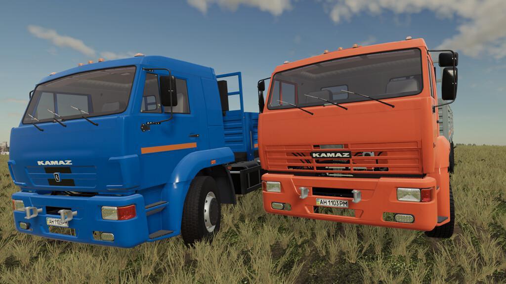 FS19 - Kamaz 65117 Truck V1