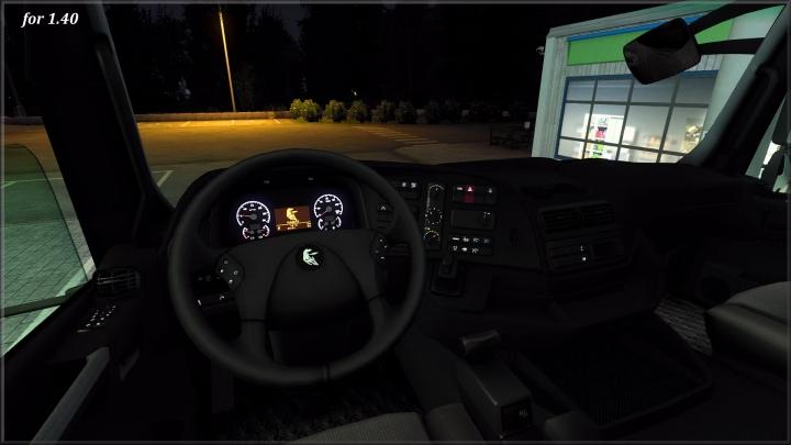ETS2 - Interior Kamaz 5490 Neo/65206 V1.0 (1.40.x)