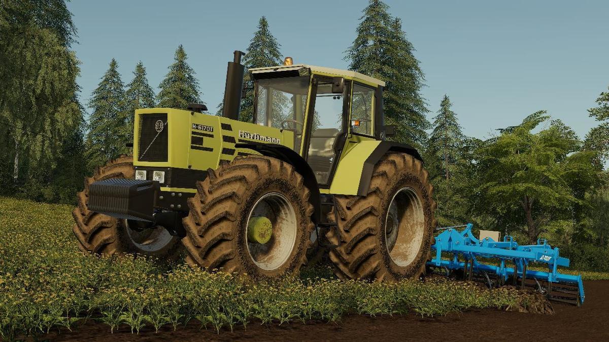 FS19 - Huerlimann H6170T Tractor V1.0