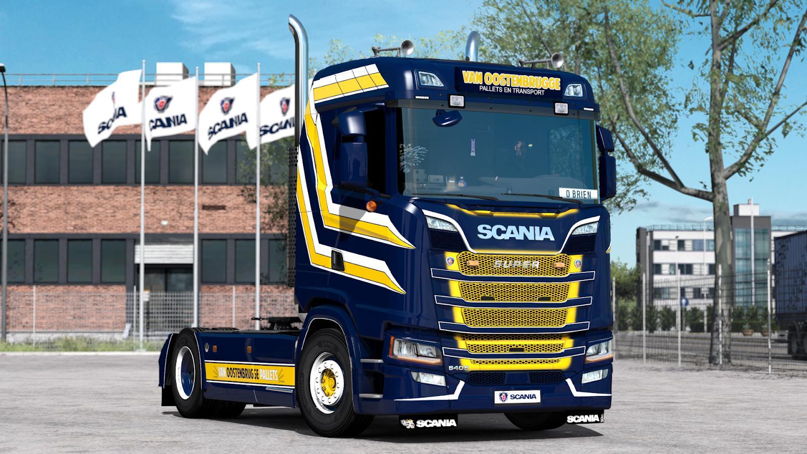 ETS2 - NextGen Scania S & R l6 Sound V2.0 (1.38.x)