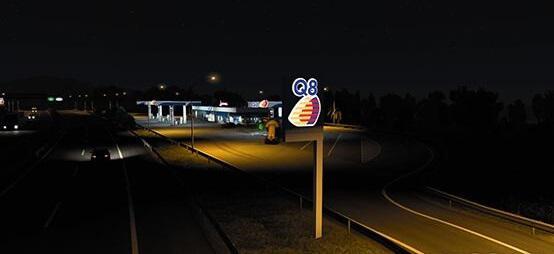 ETS2 - Real Gas Station V1.01 (1.40.x)