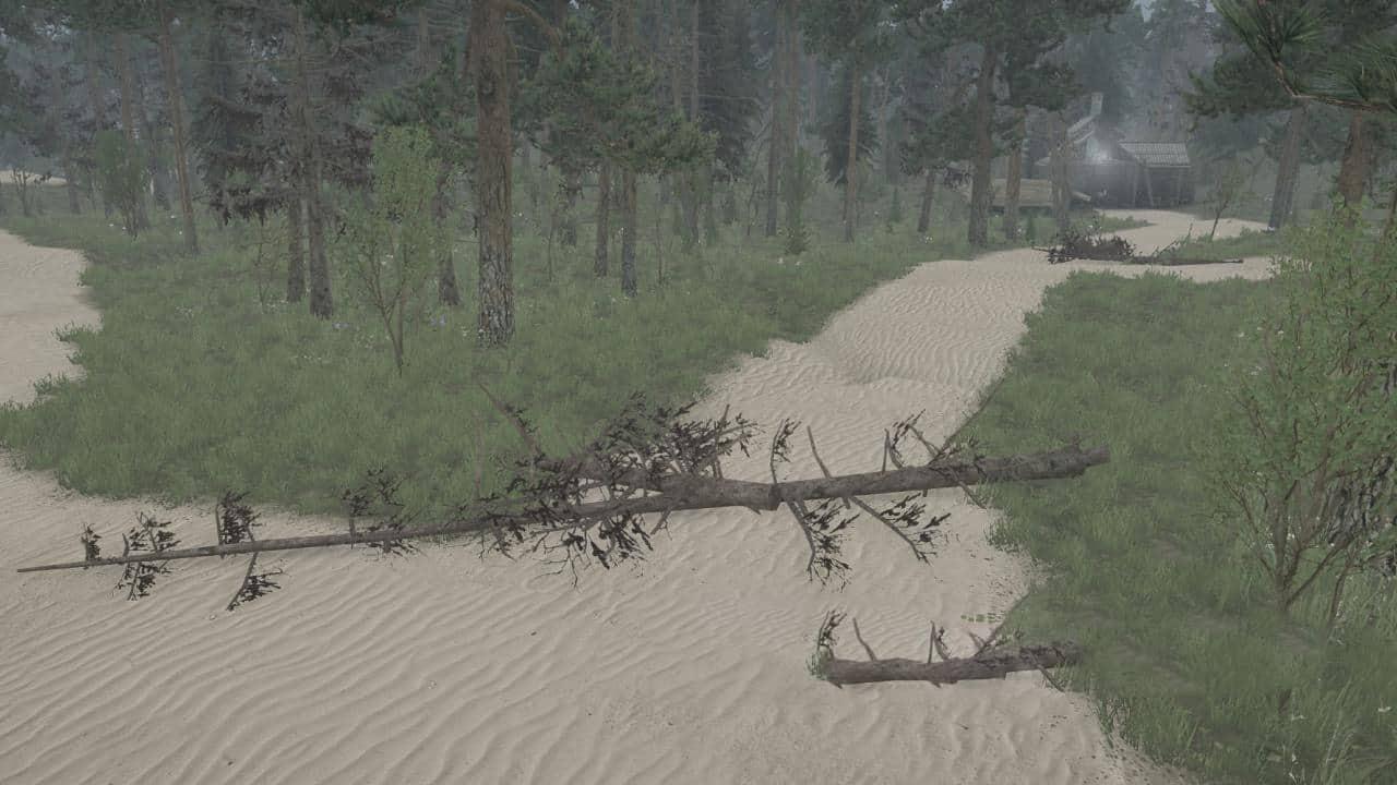Spintires:Mudrunner - Sand Road Map V12.02.20