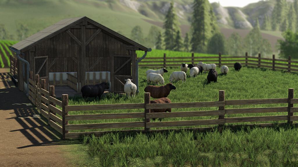 FS19 - Sheep Pasture V1