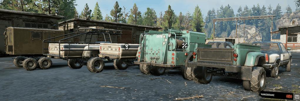 SnowRunner - Truck Bed Trailers V2.0