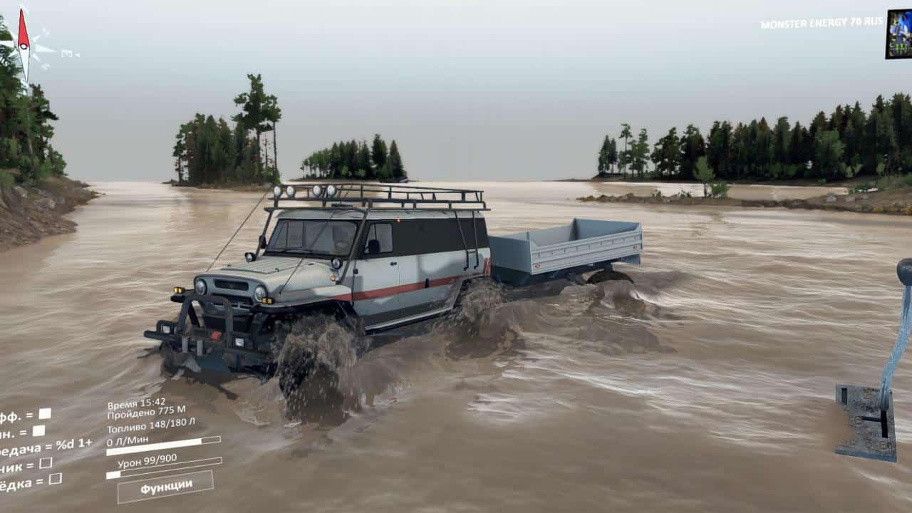 Spintires - Uaz Bear All Terrain Vehicle Bear V1.0