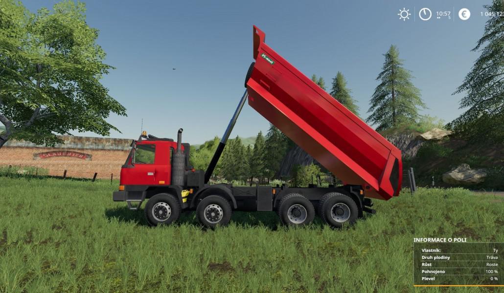 FS19 - Tatra TerrNo1 8x8 + Korba S1 V1