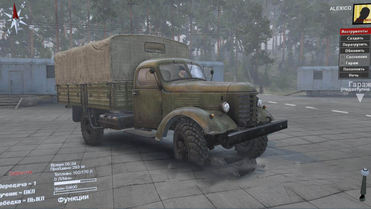 Spintires - Jiefang CA10 4x4 Truck V1.0
