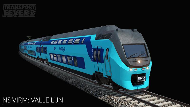 Transport Fever 2 - NS VIRM: Connexxion Valleilijn