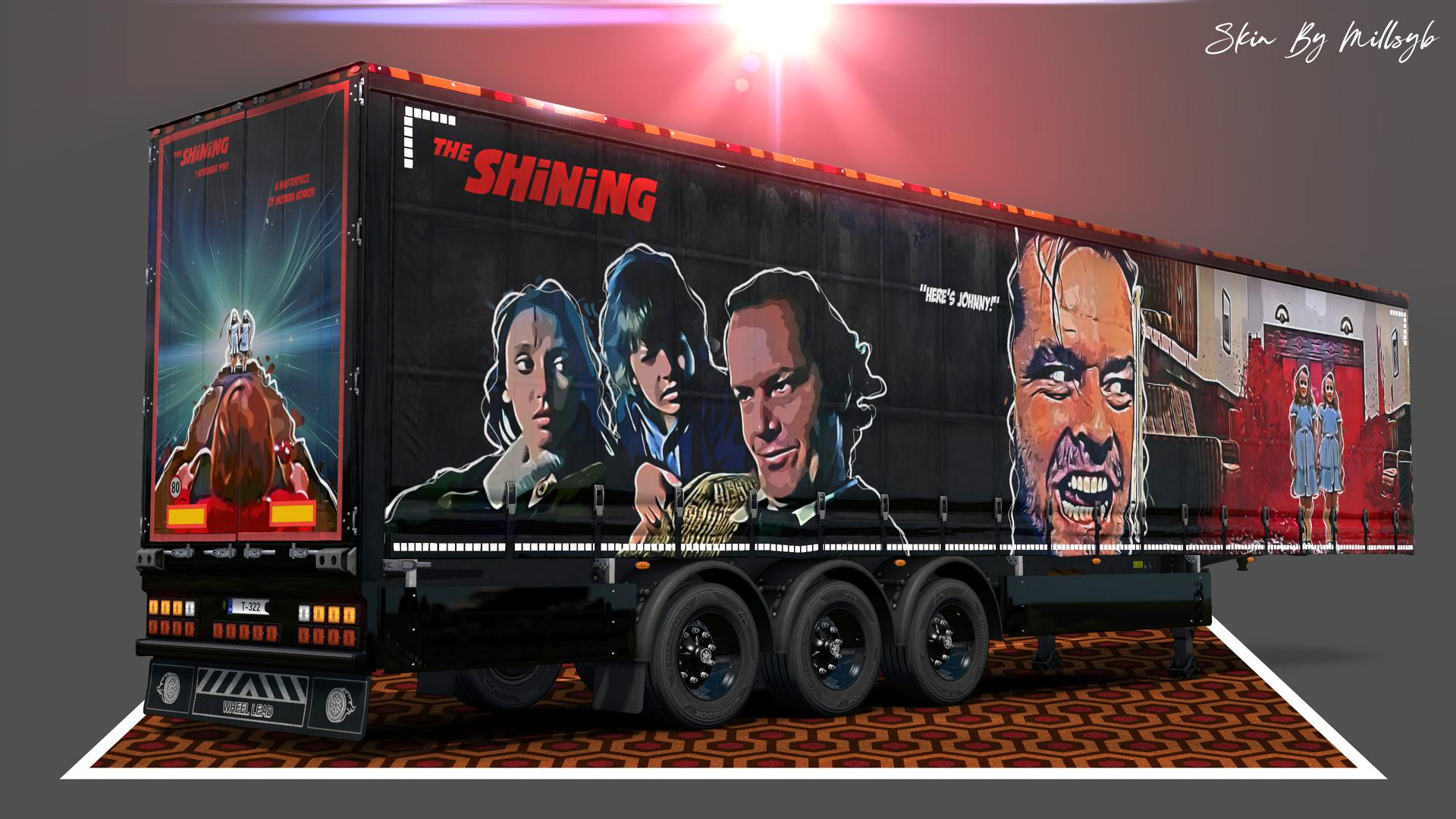 ETS2 - The Shining Trailer Skin V1.0 (1.36.x)