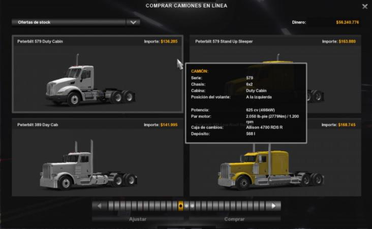 ATS - 625 HP Engines for all Trucks SP And SP (1.38.x)