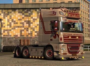 ETS2 - Daf XF 105 Truck (1.36.x)