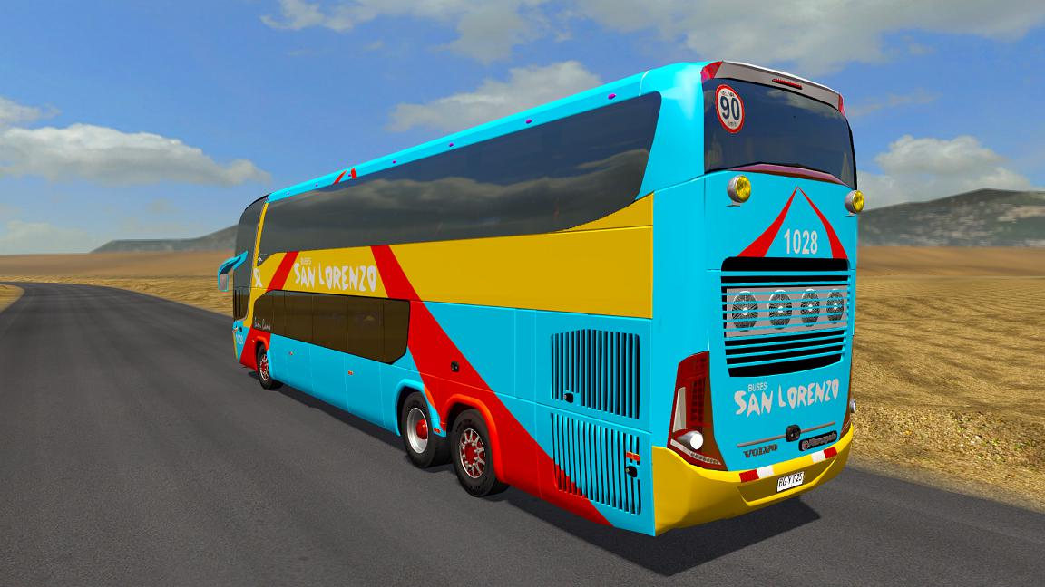 ETS2 - Marcopolo G7 1800 DD Volvo GPBG Bus V2 (1.37 - 1.38)